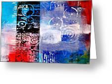 Color Scrap Greeting Card by Nancy Merkle