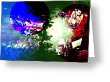 Color War Greeting Card by Racquel Delos Santos