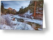 Colorado Creek Greeting Card by Darren  White