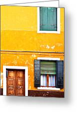 Colorful Entry Greeting Card by Susan  Schmitz