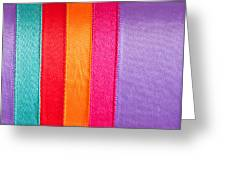 Colorful Nylon Greeting Card by Tom Gowanlock