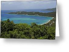 Colorful Saint Thomas  Greeting Card by Willie Harper