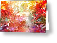 Colorplay 9 Greeting Card by Artwork Studio