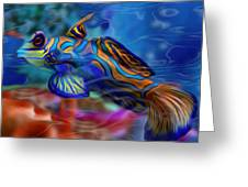 Colors Below 2 Greeting Card by Jack Zulli