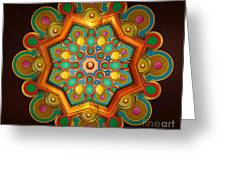 Colors Burst Greeting Card by Bedros Awak