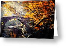 Colors Of Autumn Greeting Card by Gun Legler