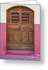 Colors Of Granada I Greeting Card by Christina Klausen