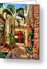 Colors Of Saint Thomas 1 Greeting Card by Mel Steinhauer