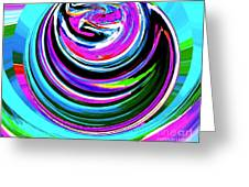 Colors On Canvas II Greeting Card by Annie Zeno