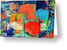 Colorscape Greeting Card by Ana Maria Edulescu
