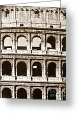 Colosseum Greeting Card by Granger