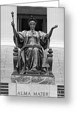 Columbia University Alma Mater Greeting Card by University Icons