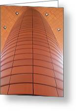 Column Of Strength Greeting Card by Randall Weidner