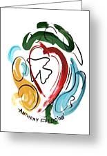 Come Into My Heart Greeting Card by Anthony Falbo