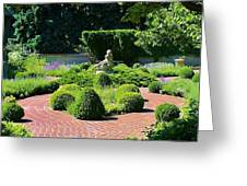 Come To My Garden Greeting Card by Bruce Bley