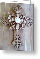 Come To The Cross Greeting Card by Michael Pasko