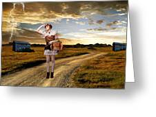 Coming Home Greeting Card by Ester  Rogers