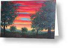 Coming Home Greeting Card by Kenneth Stockton
