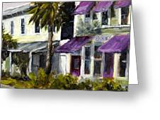 Commerce And Avenue D Greeting Card by Susan Richardson