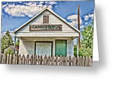 Commissary Greeting Card by Scott Pellegrin