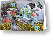 Common Ground Greeting Card by Betsy A  Cutler