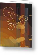 Composition 50 Greeting Card by Terry Reynoldson