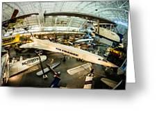 Concorde Greeting Card by Randy Scherkenbach