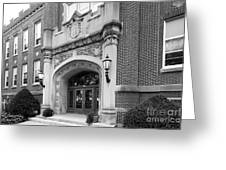 Concordia University Meyer Hall Greeting Card by University Icons