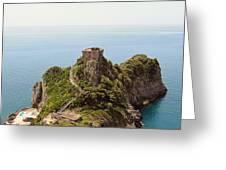 Concu Dei Marini Amalfi Greeting Card by Marilyn Dunlap