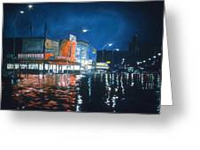 Coney Island Greeting Card by Anthony Butera