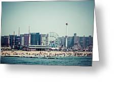Coney Island Dream Greeting Card by Frank Winters