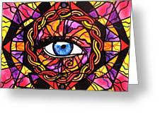 Confident Self Expression Greeting Card by Teal Eye  Print Store