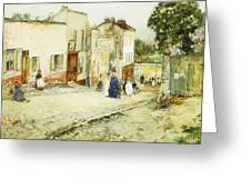 Confirmation Day Greeting Card by Childe Hassam
