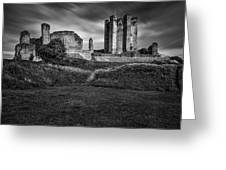 Conisbrough Castle Doncaster Greeting Card by Ian Barber