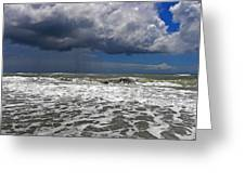 Conquering The Storm Greeting Card by Sandi OReilly