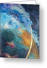 Constellations Greeting Card by Cheryl Myrbo