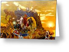 Constructors of Time Greeting Card by Henryk Gorecki
