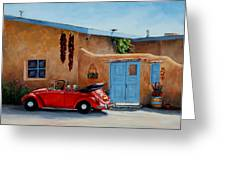 Cool Ride Greeting Card by Mary Giacomini