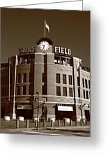 Coors Field - Colorado Rockies 20 Greeting Card by Frank Romeo