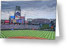 Coors Field Greeting Card by Ron White
