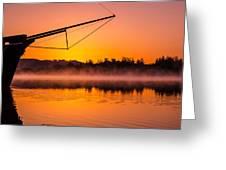 Coos Bay Sunrise II Greeting Card by Robert Bynum