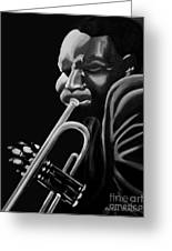 Cootie Williams Greeting Card by Barbara McMahon