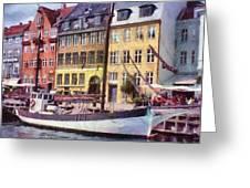 Copenhagen Greeting Card by Jeff Kolker