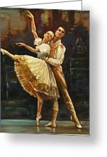Coppelia Greeting Card by Podi Lawrence