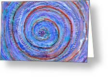 Coriolis 3 Greeting Card by Regina Valluzzi
