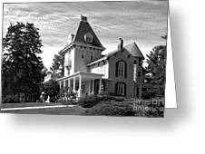 Cornell College President's House Greeting Card by University Icons