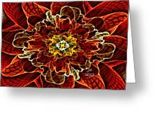 Corsage Greeting Card by Janet Russell