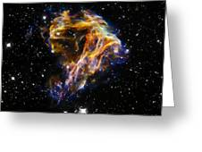 Cosmic Heart Greeting Card by The  Vault - Jennifer Rondinelli Reilly
