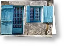 Cottage In France Greeting Card by Nomad Art And  Design