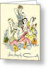 Coty 1940s Uk Womens Greeting Card by The Advertising Archives